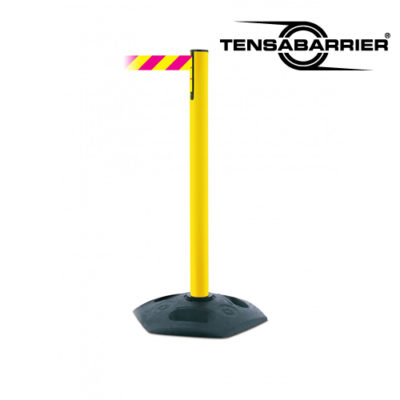 886 Heavy Duty Tensbarrier Plastic Retracrable Belt Weather Resistant Stanchion